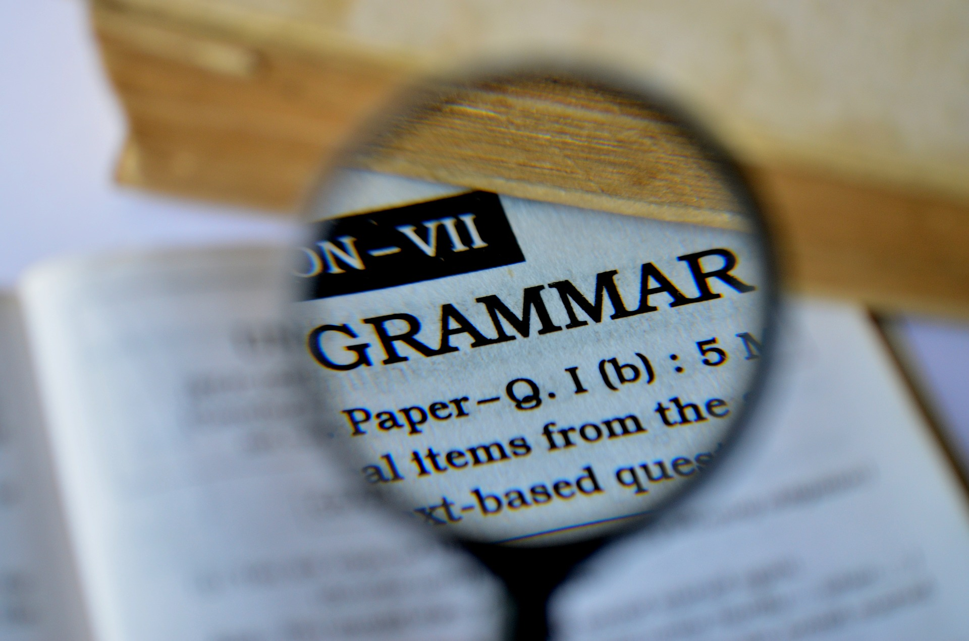 Online resources for learning English: Grammar